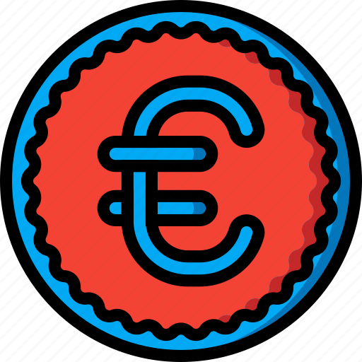 coin, currency, ecommerce, euro, money, payment icon