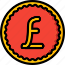 coin, currency, ecommerce, money, payment, pound icon