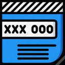 code, credit, debit, ecommerce, payment, security, visa icon
