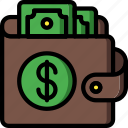 currency, dollar, ecommerce, money, payment, wallet icon