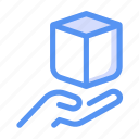 box, delivery, package, product, sell, shipping icon