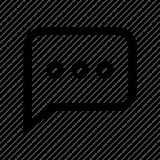 Dialog, bubble, chat, comment, conversation, message, talk icon - Download on Iconfinder