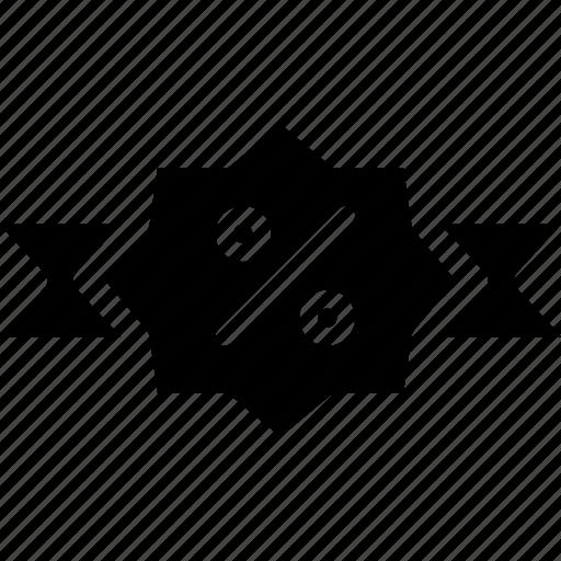 e-commerce, label, sale, solid, tag icon