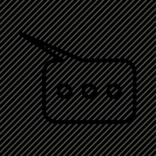 bubble, chat, comment, speech icon