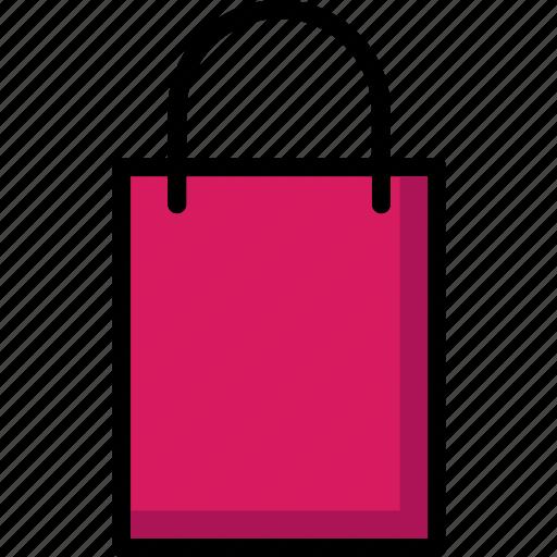 bag, colour, commerce, e, shopping, ultra icon