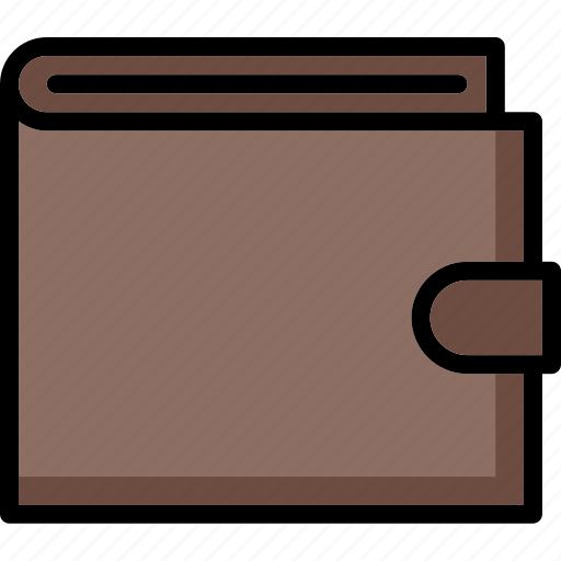 colour, commerce, e, ultra, wallet icon
