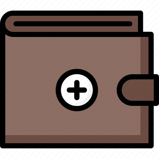 add, colour, commerce, e, to, ultra, wallet icon