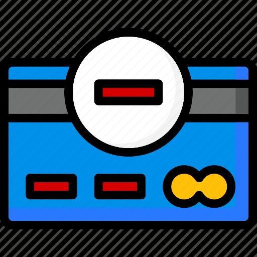 card, colour, commerce, credit, e, remove, ultra icon
