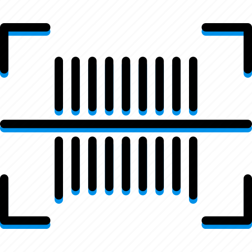 barcode, colour, commerce, e, ultra icon