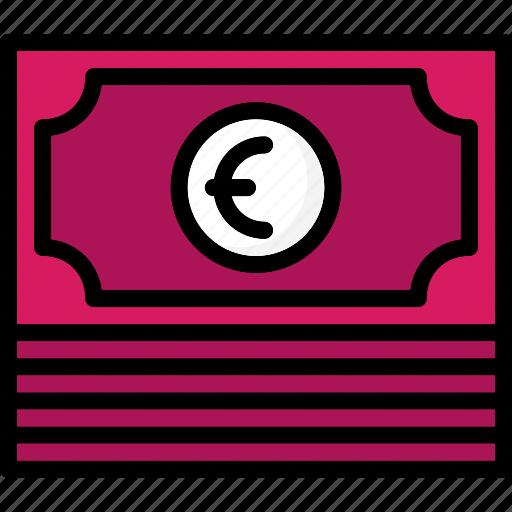 colour, commerce, e, euro, ultra, wod icon