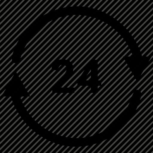 Arrow, clock, history icon - Download on Iconfinder