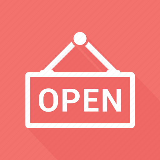 nonstop, open, shop, store icon