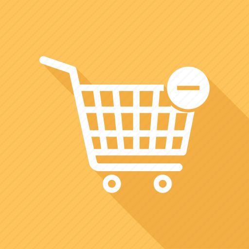 buy, cart, ecommerce, minus, online shop, shop, shopping icon