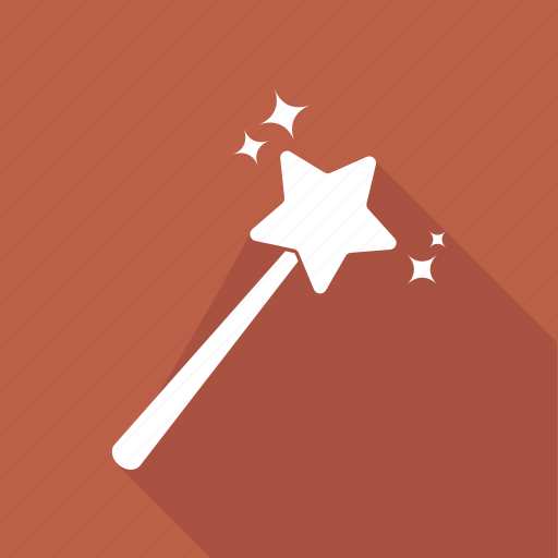 Magic, magic wand, wand, wizard icon - Download on Iconfinder