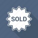 estate, real, sign, sold