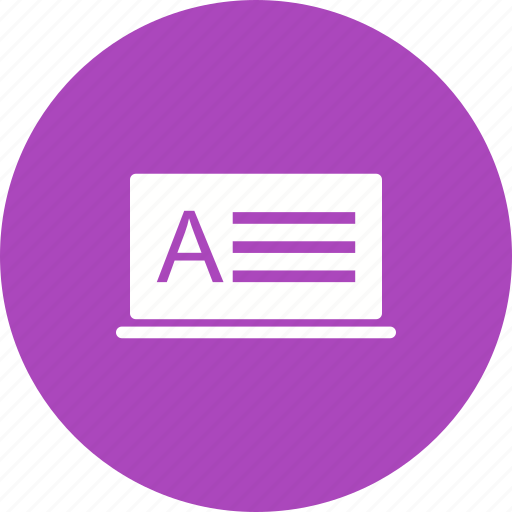 computer, e-learning, education, learning, online, study, technology icon