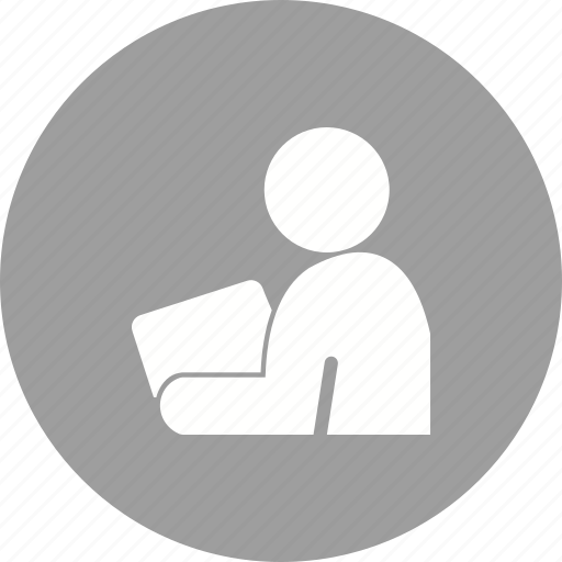 education, laptop, learning, notebook, reading, student, tablet icon