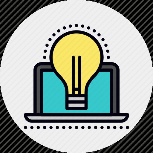computer, idea, innovation, technology icon