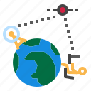 global, learning icon