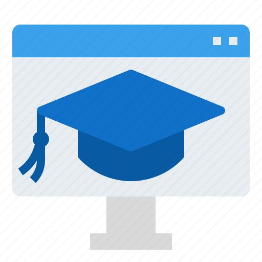 education, online, study icon
