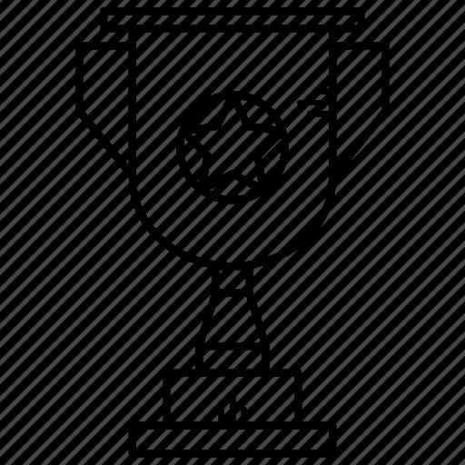 award, prise, trophy, winner icon