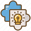 diploma, e-learning, education, jigsaw, learn, school, solution icon