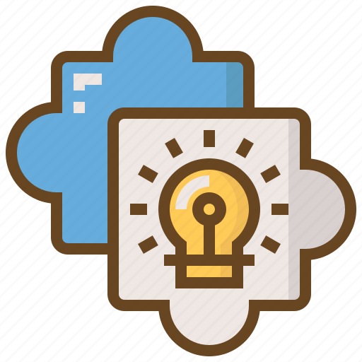 diploma, e-learning, education, jigsaw, learn, school, solution icon