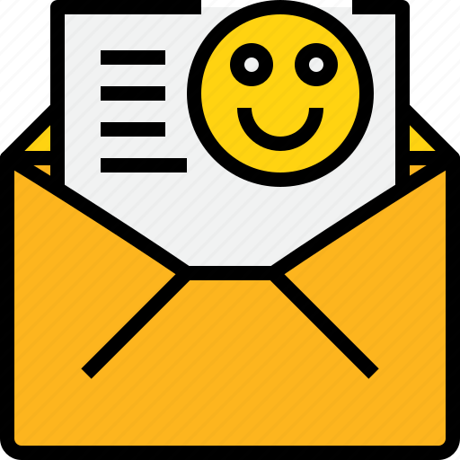 communication, email, good, mail, message, online, open icon