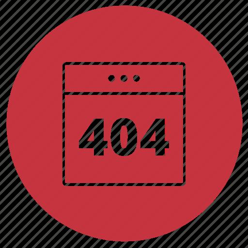 error, error404, eshop icon