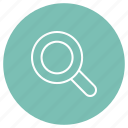 eshop, zoom, magnifying glass icon