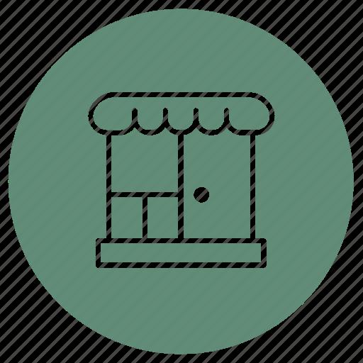 eshop, shop, store icon
