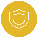eshop, quality, security, shield icon