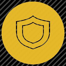 eshop, quality, security, shield icon