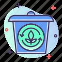 bin, eco, green, recycle