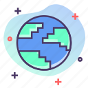 earth, ecology, environment, planet icon
