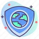 earth, protection, security, shield