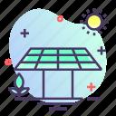 eco, electricity, panel, solar