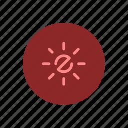 adjustment, bright, brightness, contrast, light, screen, settings icon