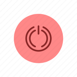 energy, exit, off, on, power, shut down, turn icon