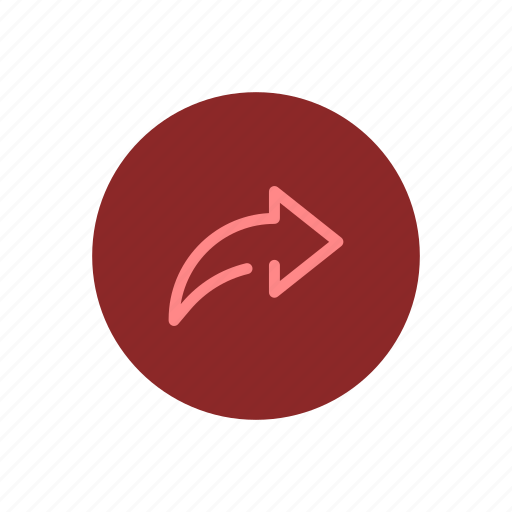 arrow, content, jump, next, share, sharing, skip icon