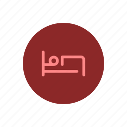 accomodation, bed, bedroom, guest, rest, sleep, sleeping icon