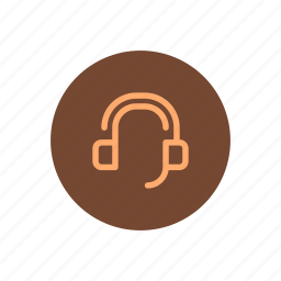 assistance, call, center, customer, headphones, support, technical icon