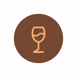 alcohol, glass, meal, menu, tasting, wine icon