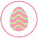 celebrate, decorate, egg, food, ornament icon