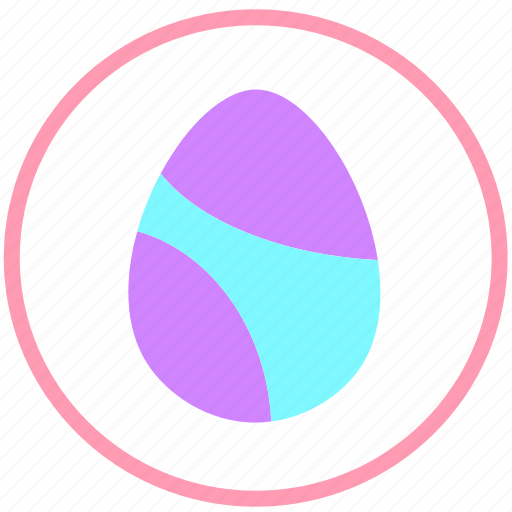 celebrate, decorate, easter, egg, food, ornament icon