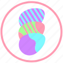 celebrate, decorate, easter, egg, eggs, food, ornament icon