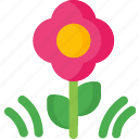 bloom, flower, flowers, garden, nature, shape icon