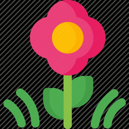 Flower, bloom, flowers, garden, nature, shape icon - Download on Iconfinder
