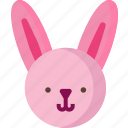 bunny, celebration, decorated, decoration, easter, egg, holiday icon