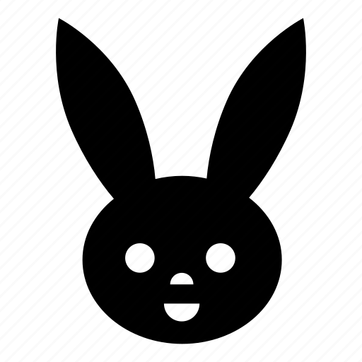 animal, bunny, easter, emotion, rabbit icon